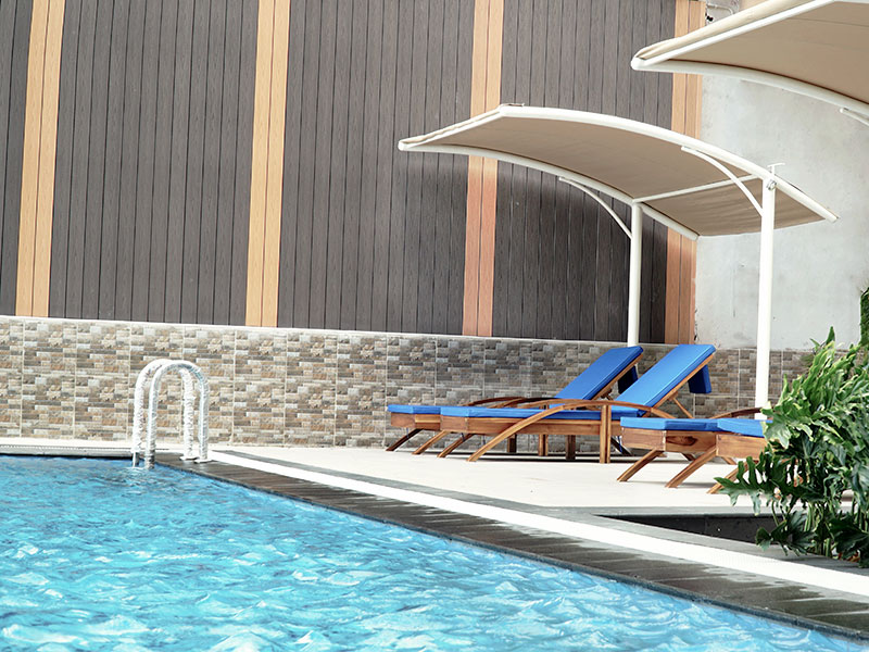 Swimming Pool Bandara City Apartment
